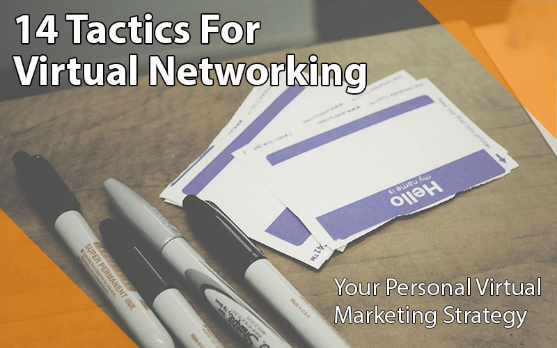 14 tactics for virtual networking